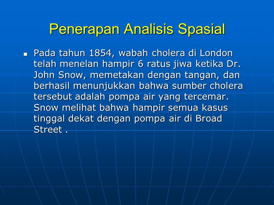 Penerapan Analisis Spasial