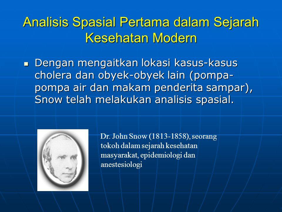 Analisis Spasial Pertama dalam Sejarah Kesehatan Modern