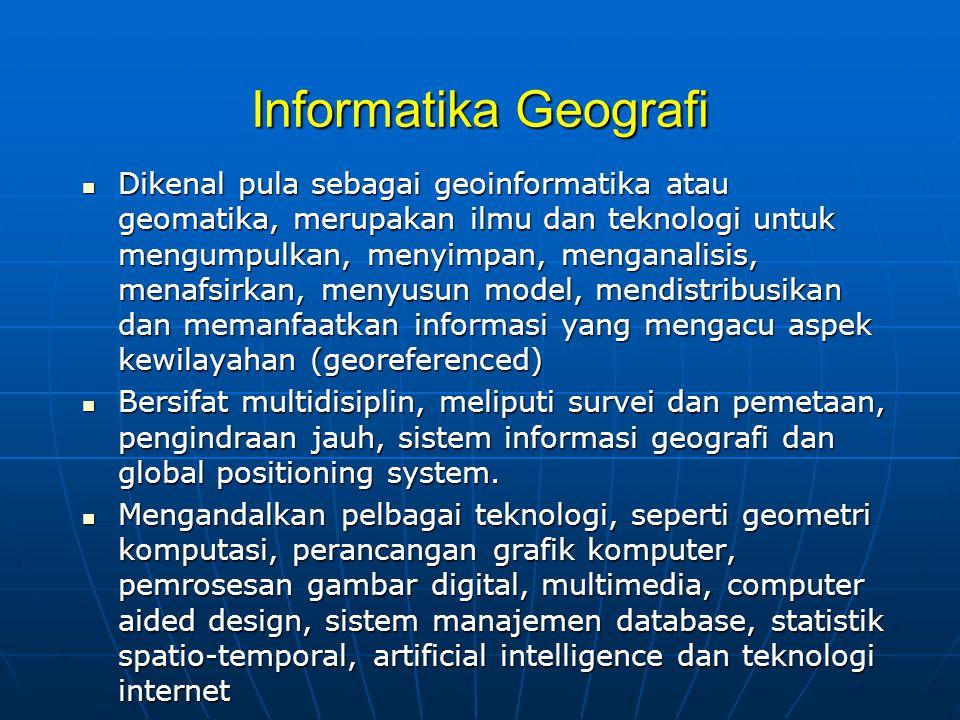 Informatika Geografi