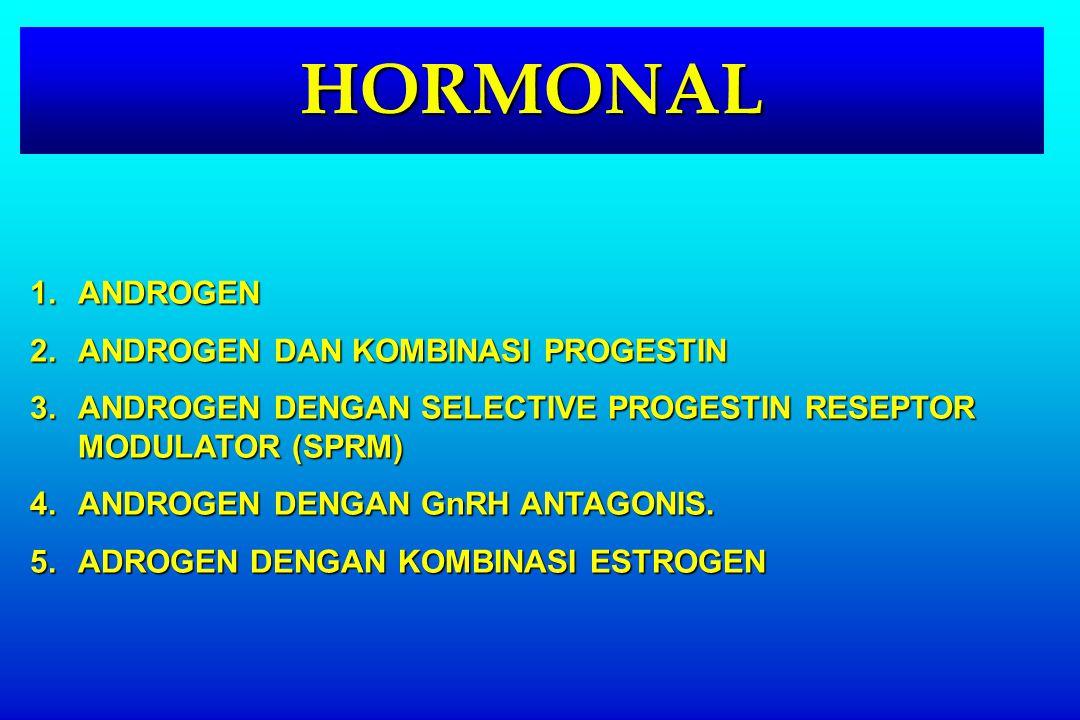 HORMONAL ANDROGEN ANDROGEN DAN KOMBINASI PROGESTIN