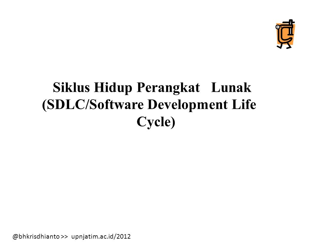 (SDLC/Software Development Life