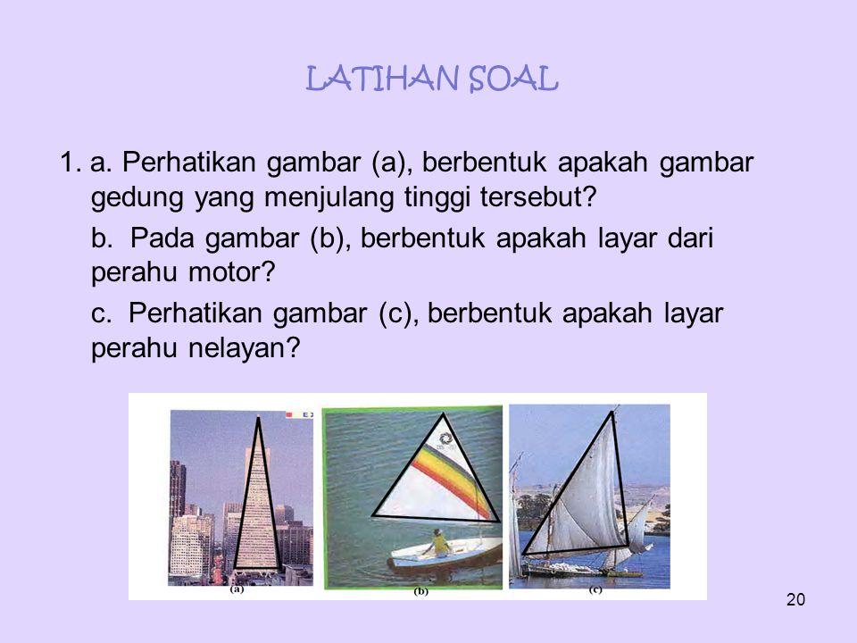 LATIHAN SOAL 1. a.