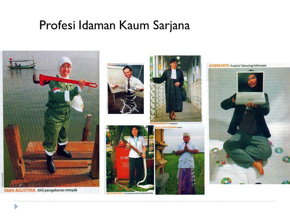 Profesi Idaman Kaum Sarjana