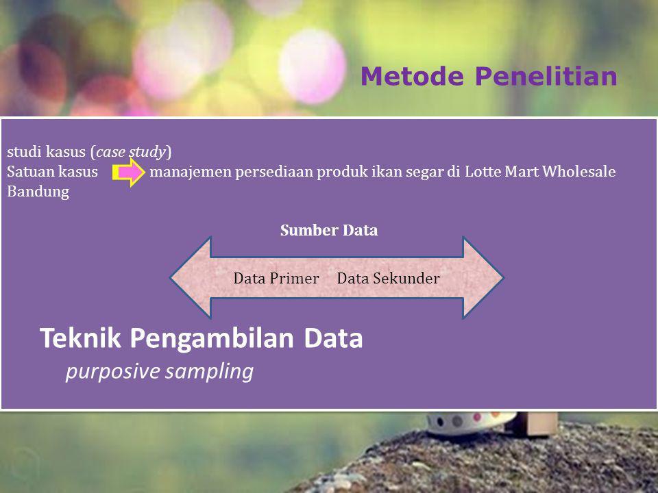 Data Primer Data Sekunder