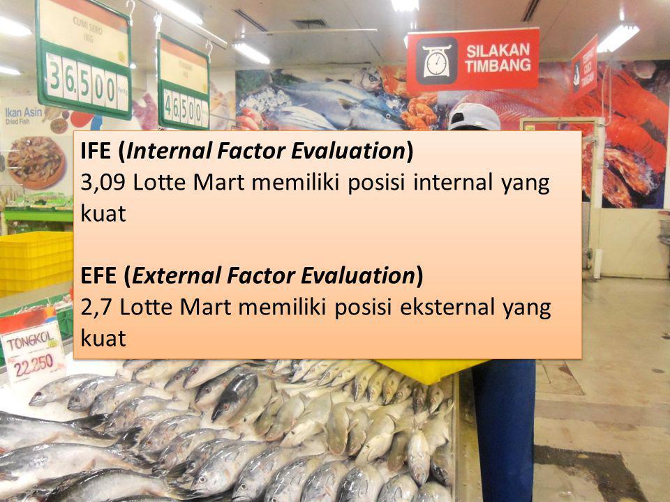 IFE (Internal Factor Evaluation)
