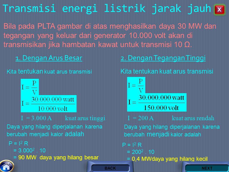 Transmisi energi listrik jarak jauh