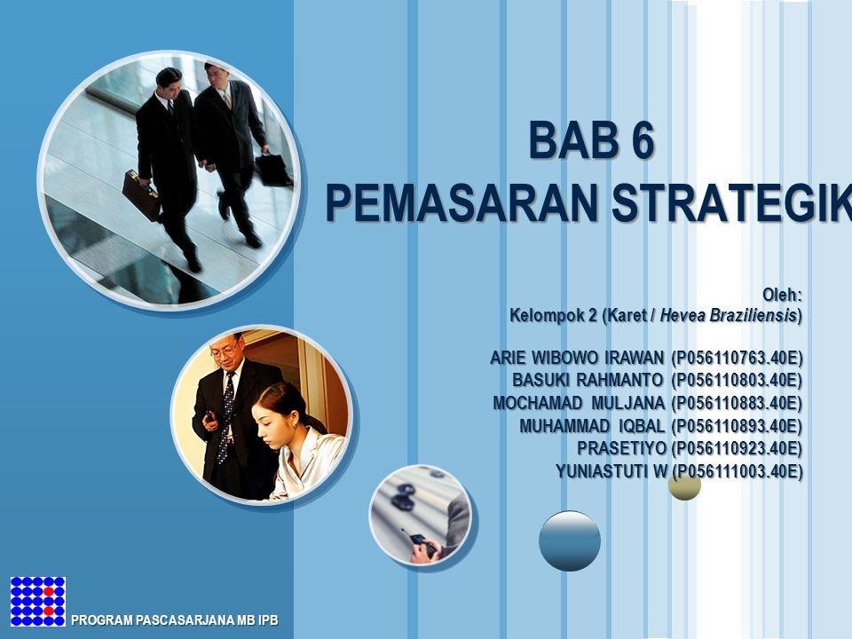 BAB 6 PEMASARAN STRATEGIK