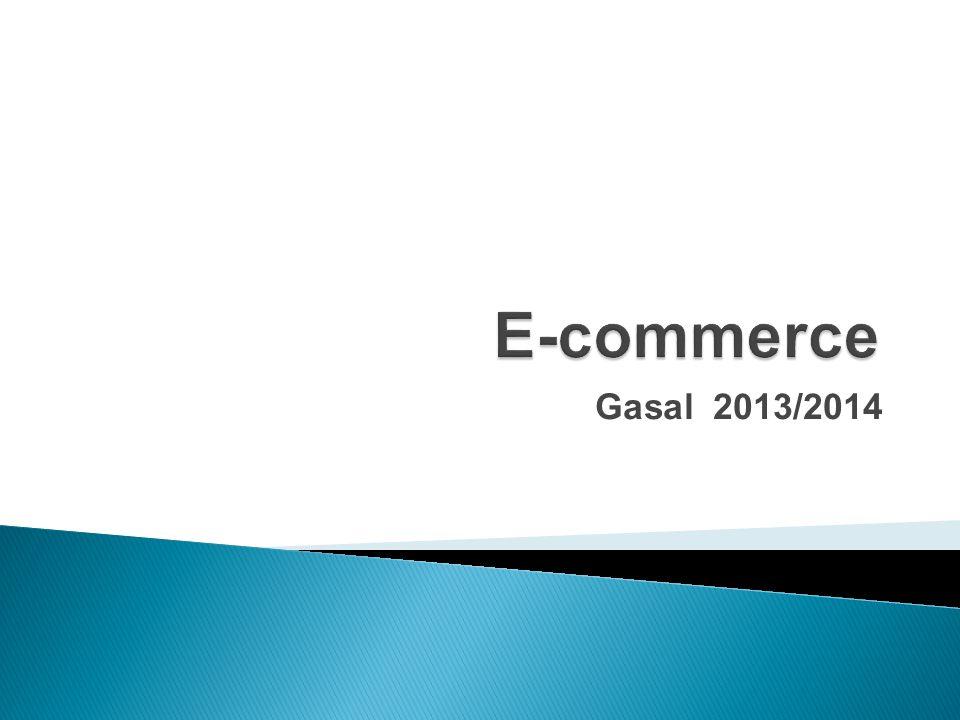 E-commerce Gasal 2013/2014