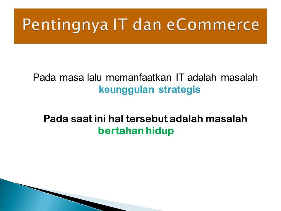 Pentingnya IT dan eCommerce