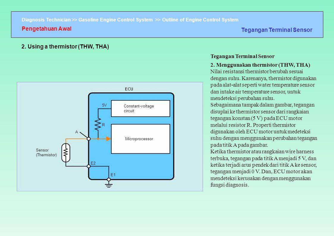 Tegangan Terminal Sensor