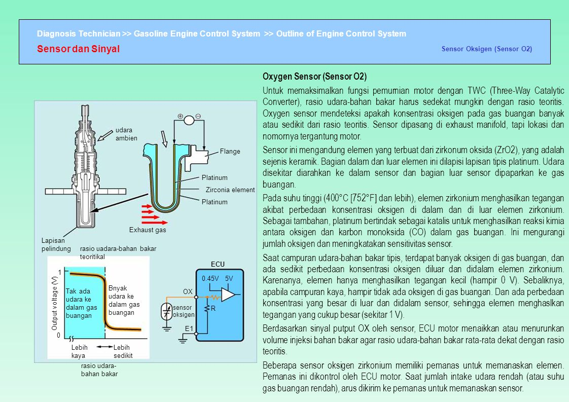 Oxygen Sensor (Sensor O2)