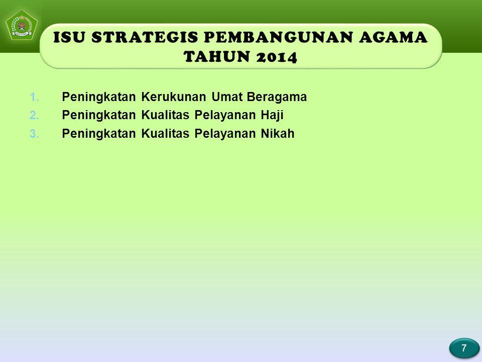 ISU STRATEGIS PEMBANGUNAN PENDIDIKAN TAHUN 2014