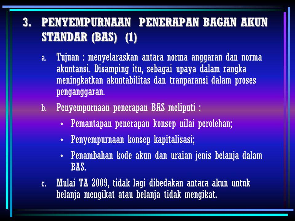 PENYEMPURNAAN PENERAPAN BAGAN AKUN STANDAR (BAS) (1)
