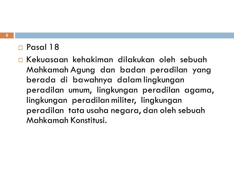 Pasal 18