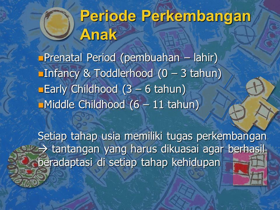 Periode Perkembangan Anak