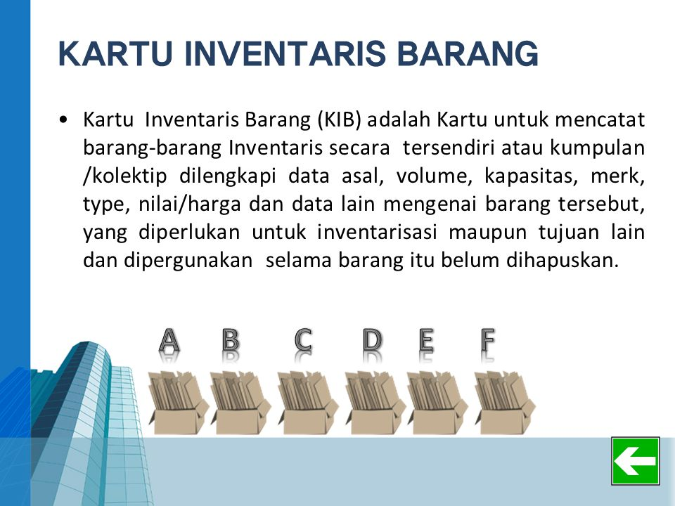KARTU INVENTARIS BARANG