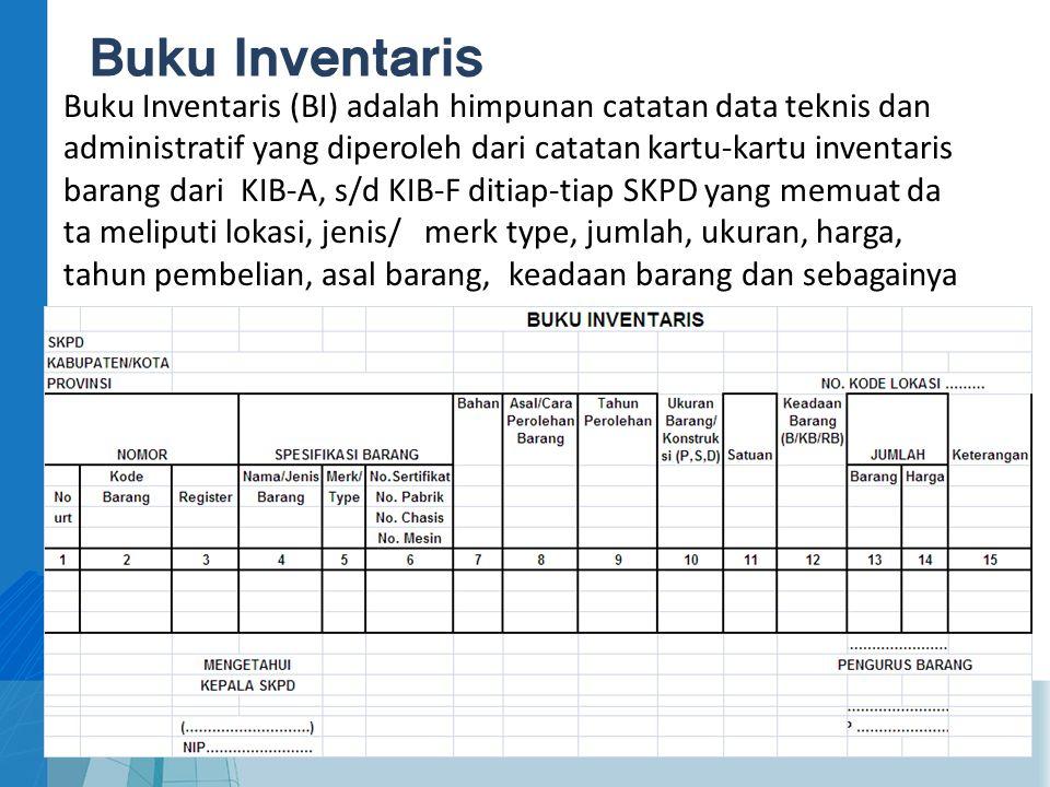 Buku Inventaris