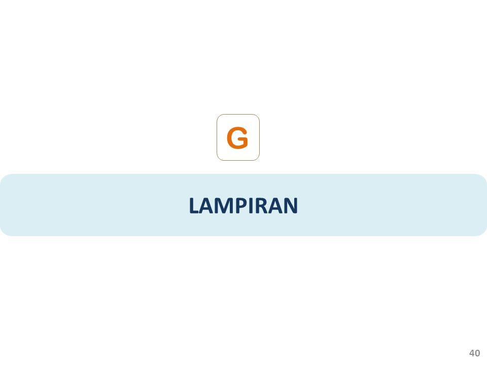 G LAMPIRAN