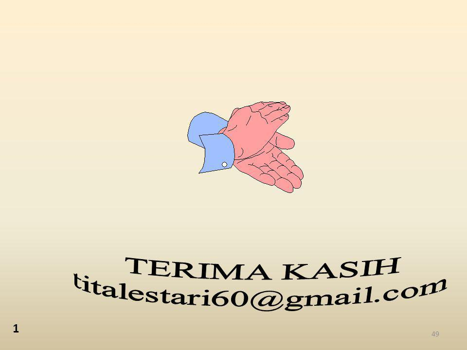 TERIMA KASIH titalestari60@gmail.com 1