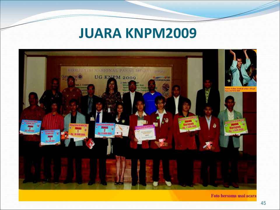 JUARA KNPM2009