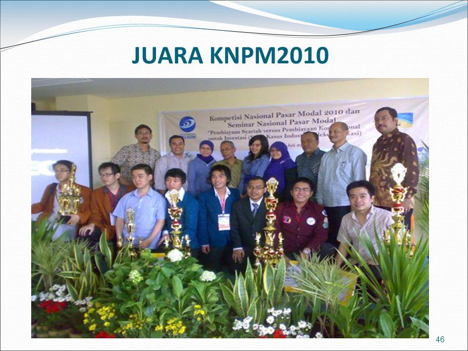 JUARA KNPM2010