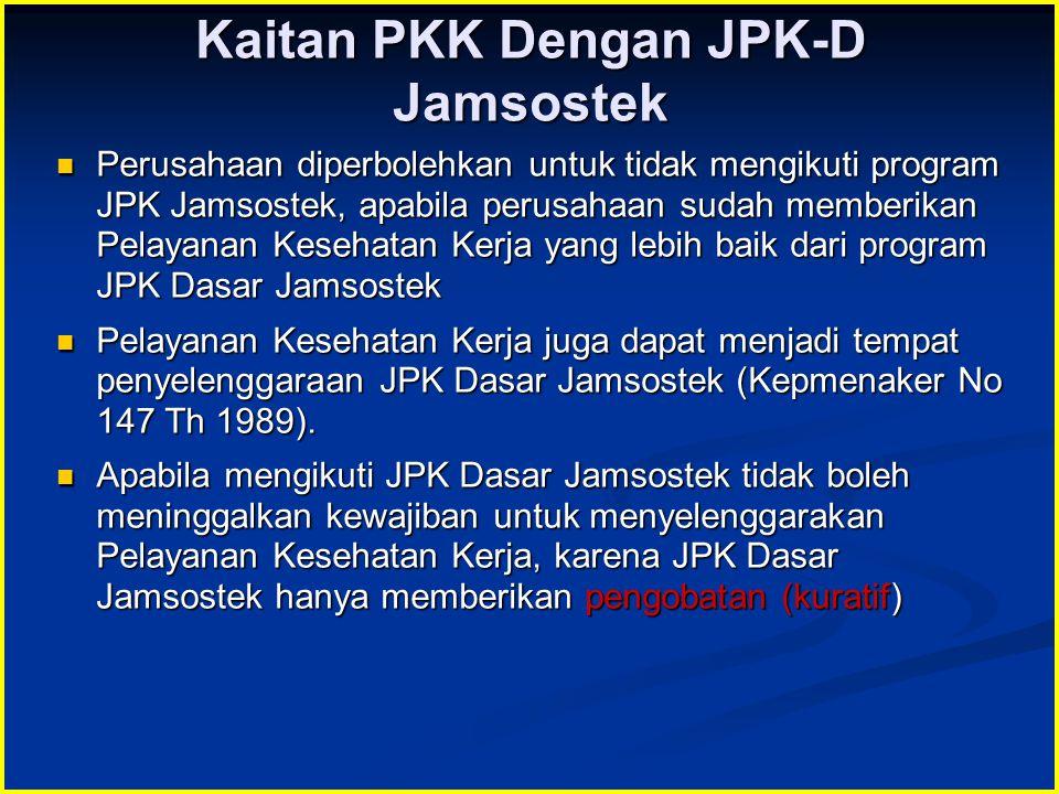 Kaitan PKK Dengan JPK-D Jamsostek