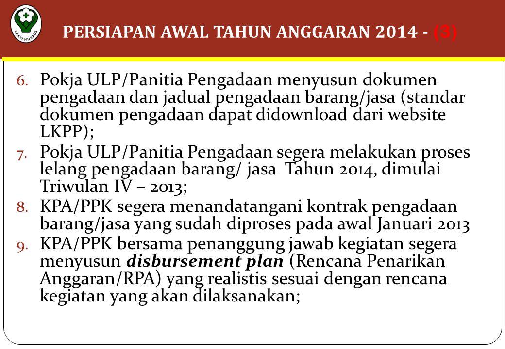 PERSIAPAN AWAL TAHUN ANGGARAN 2014 - (3)