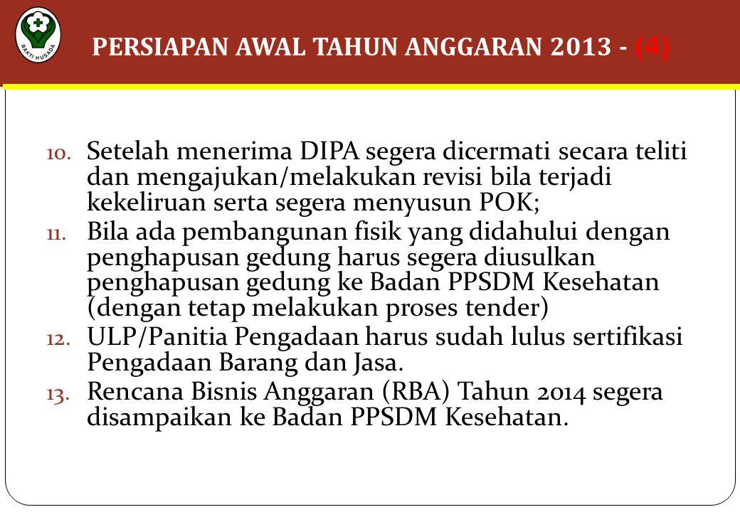 PERSIAPAN AWAL TAHUN ANGGARAN 2013 - (4)