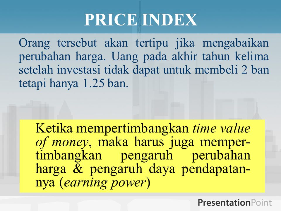 PRICE INDEX