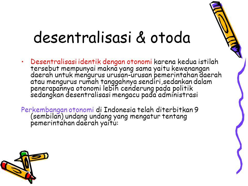 desentralisasi & otoda
