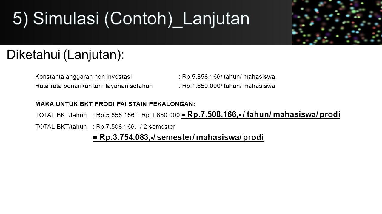 5) Simulasi (Contoh)_Lanjutan