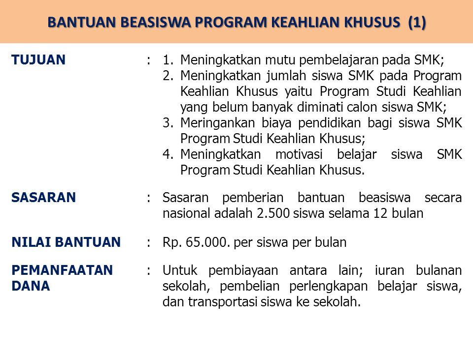 BANTUAN BEASISWA PROGRAM KEAHLIAN KHUSUS (1)