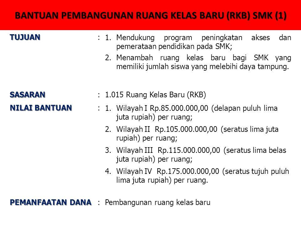 BANTUAN PEMBANGUNAN RUANG KELAS BARU (RKB) SMK (1)