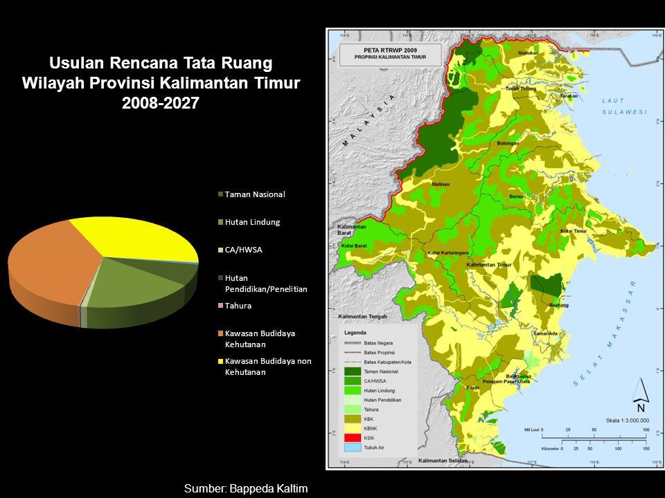 Usulan Rencana Tata Ruang Wilayah Provinsi Kalimantan Timur 2008-2027