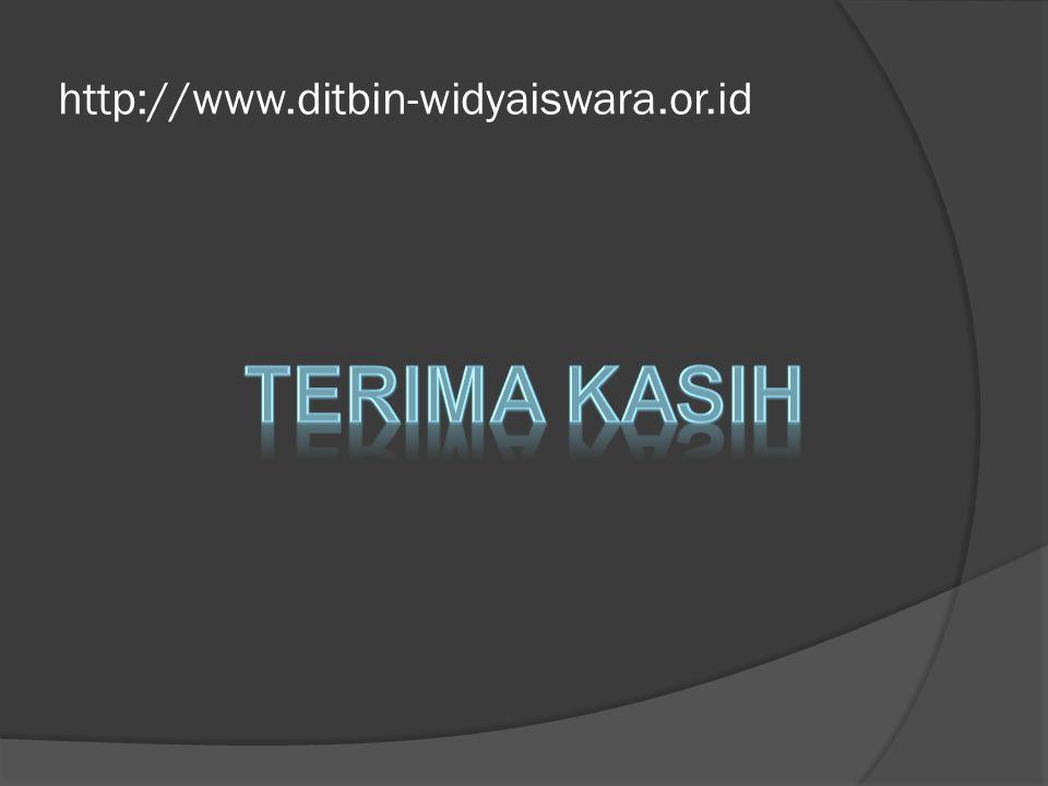 http://www.ditbin-widyaiswara.or.id Terima kasih