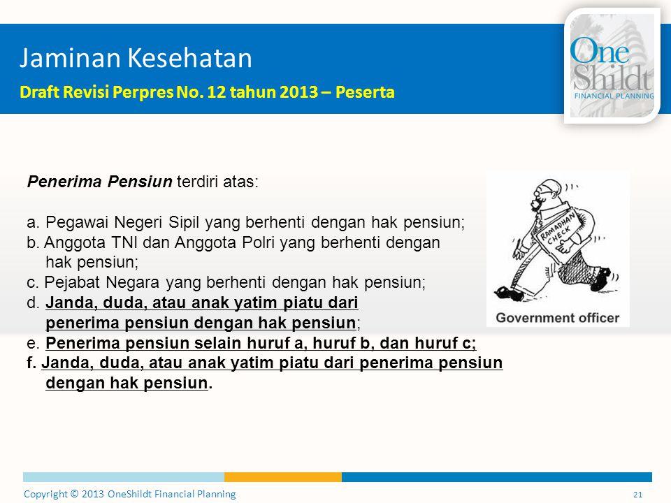 Jaminan Kesehatan Draft Revisi Perpres No. 12 tahun 2013 – Peserta