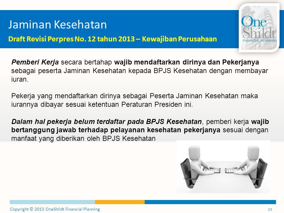 Jaminan Kesehatan Draft Revisi Perpres No. 12 tahun 2013 – Kewajiban Perusahaan.