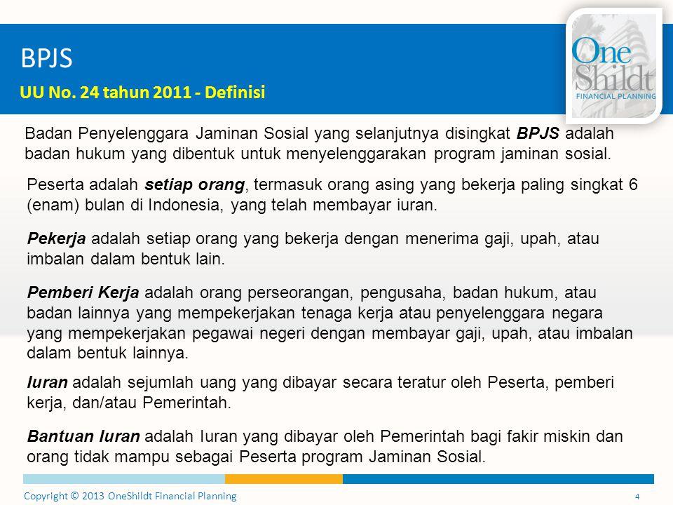 BPJS UU No. 24 tahun 2011 - Definisi