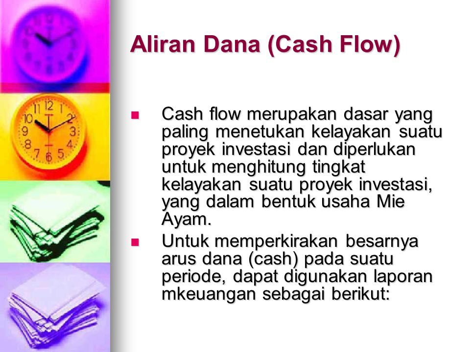 Aliran Dana (Cash Flow)