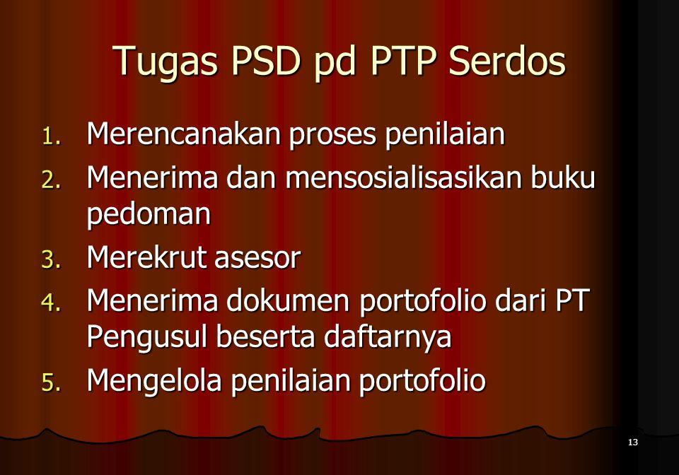 Tugas PSD pd PTP Serdos Merencanakan proses penilaian
