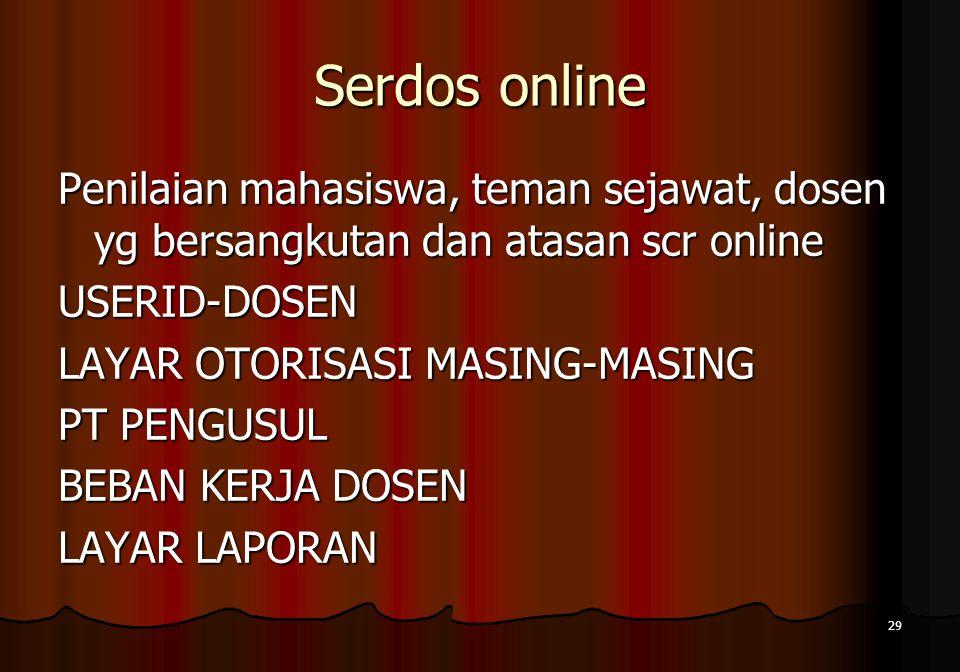 Serdos online