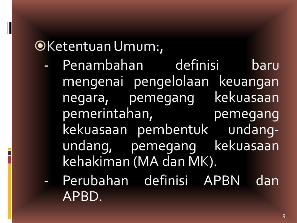 Ketentuan Umum:,
