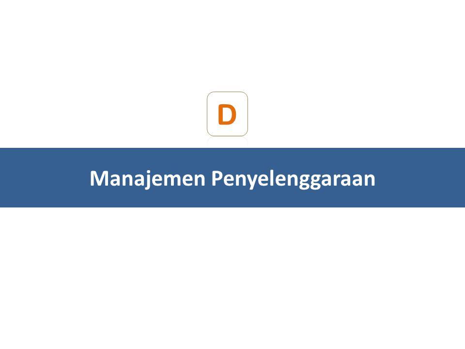 D Manajemen Penyelenggaraan