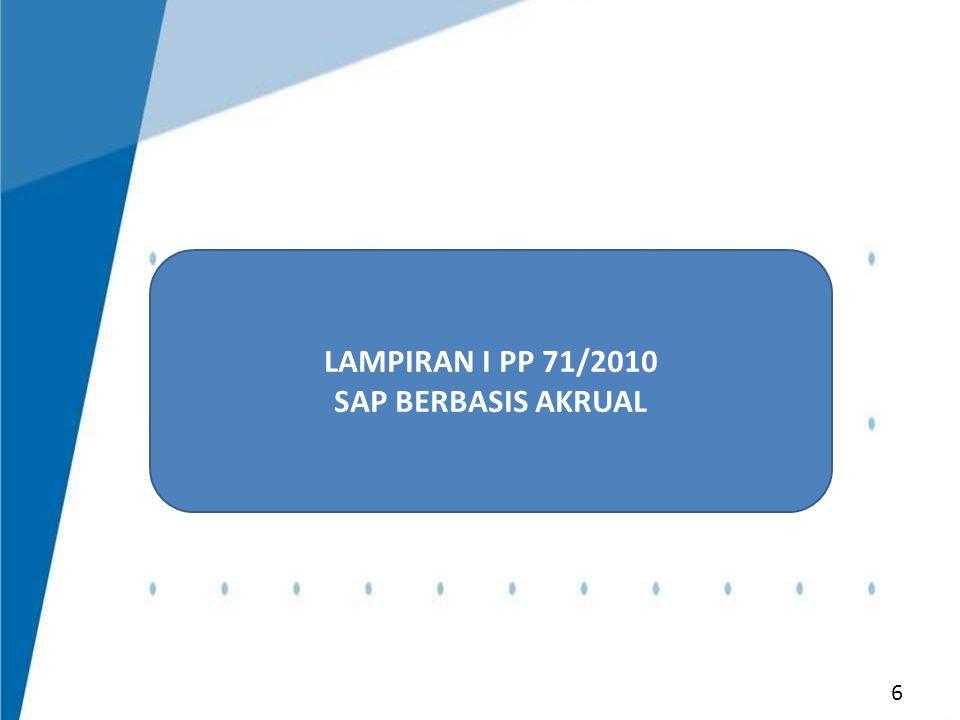 LAMPIRAN I PP 71/2010 SAP BERBASIS AKRUAL