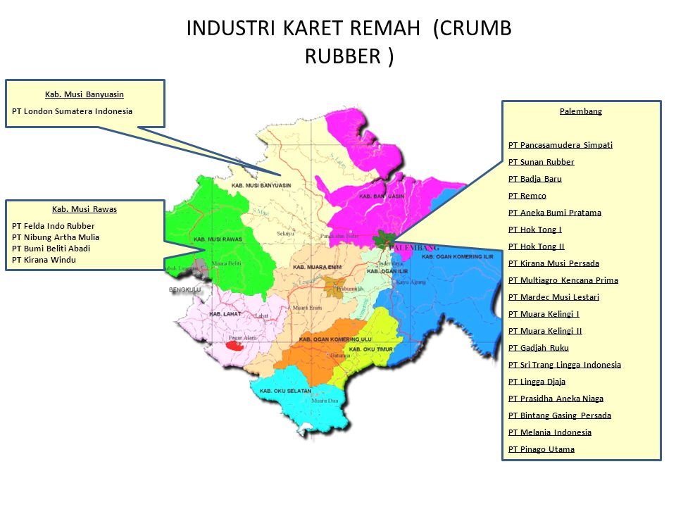 INDUSTRI KARET REMAH (CRUMB RUBBER )