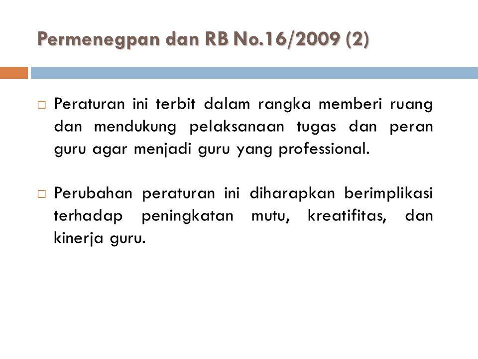 Permenegpan dan RB No.16/2009 (2)