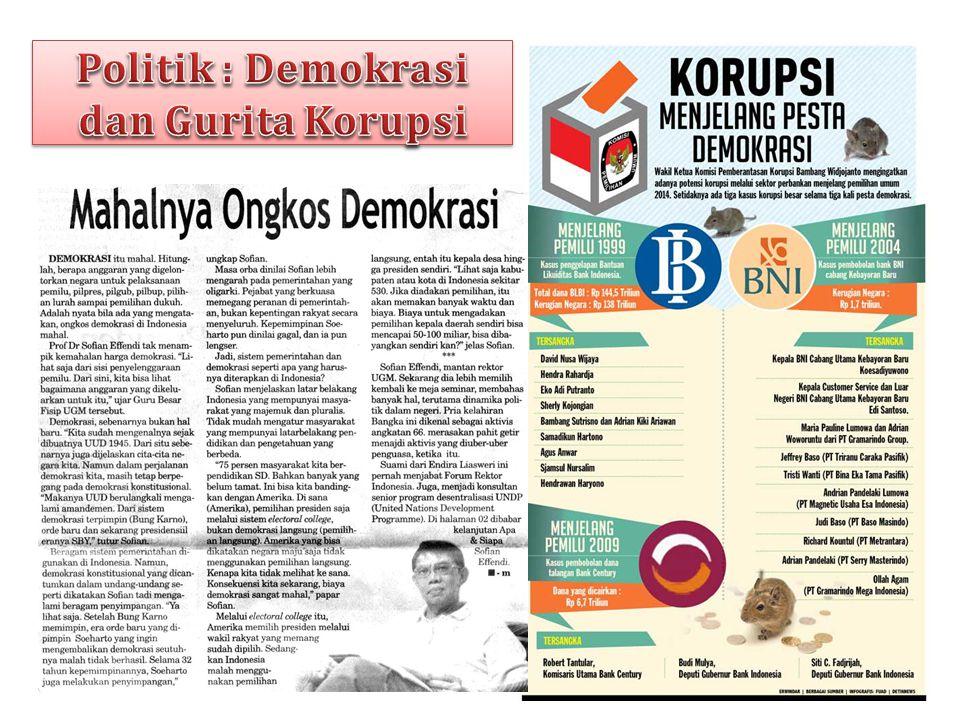 Politik : Demokrasi dan Gurita Korupsi