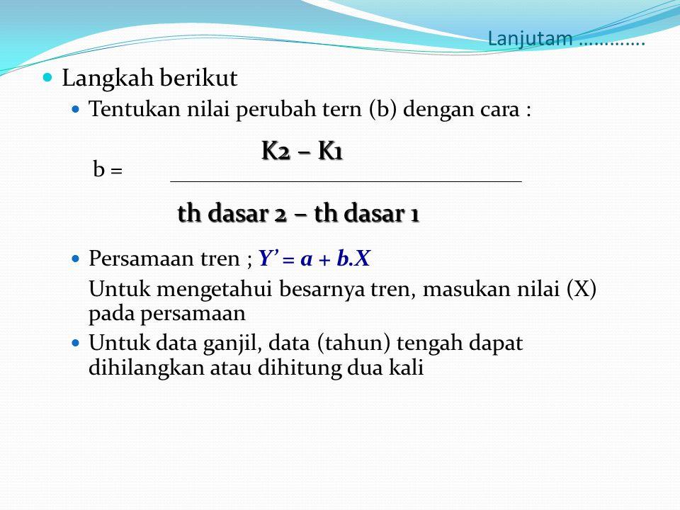 th dasar 2 – th dasar 1 Langkah berikut Lanjutam ………….