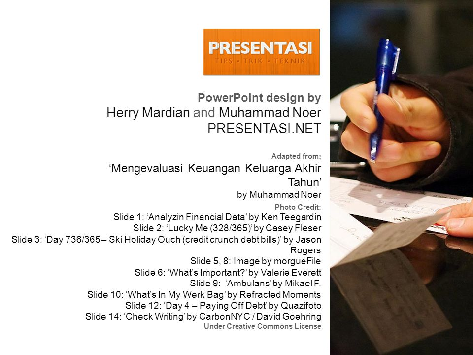 Herry Mardian and Muhammad Noer PRESENTASI.NET