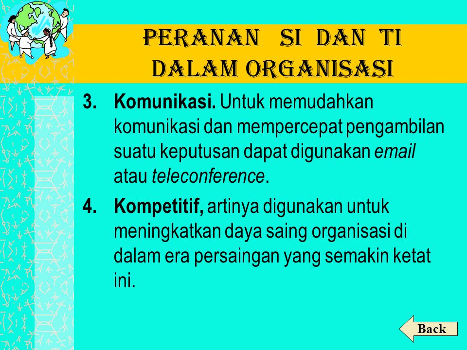 Peranan SI dan TI dalam Organisasi